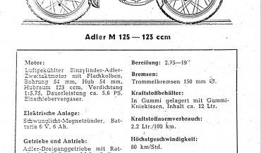 Adler M 125