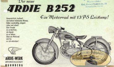 Ardie B 252 (+ Sportausführung)