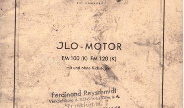 Ersatzteilliste Ilo FM 100