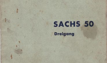 Ersatzteilliste inkl. Preisliste Sachs 50 Zweigang 310.65/3