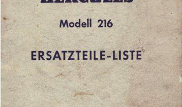 Hercules 216 (1955-1959)