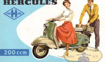 Hercules Roller 200ccm
