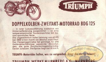 Triumph BDG 125