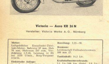 Victoria Aero KR 26 N