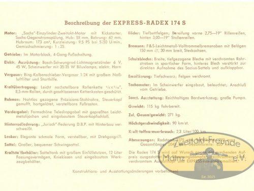 Werbeprospekt Express Radex 174 S.2