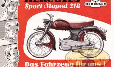 Hercules 218 Sport-Moped