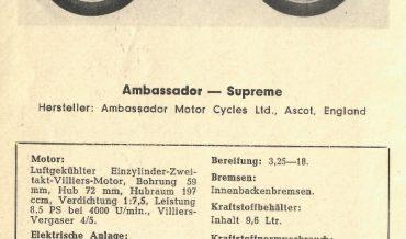 Ambassador – Supreme
