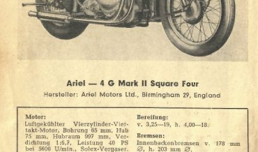 Ariel 4 G Mark II Square Four