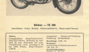 Bücker TZ 200 + TZ 200/S