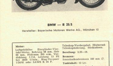 BMW R 25/3
