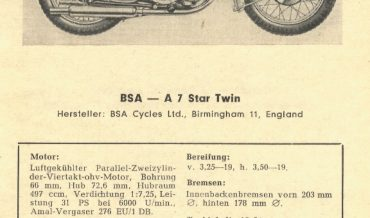 BSA A 7 Star Twin