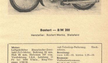 Bastert B/M 200