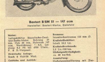 Bastert B/SM 51