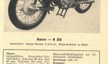 Bauer B 250