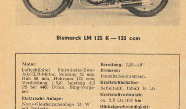 Bismarck LM 125 K