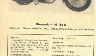 Bismarck M 150 K