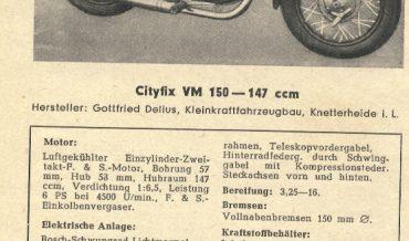 Cityfix VM 150
