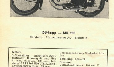 Dürkopp MD 200