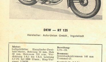 DKW RT 125 + RT 125/2 H