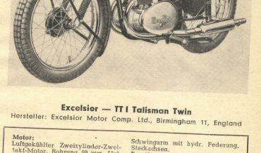Excelsior TT I Talisman Twin