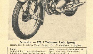 Excelsior TTS I Talisman Twin Sports