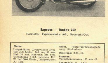 Express Radex 252