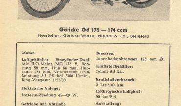 Göricke Gö 175