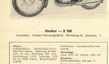Hecker K 200