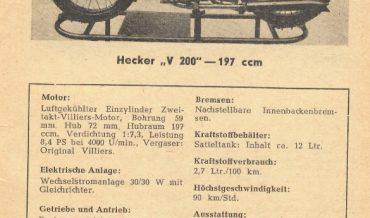 Hecker V 200