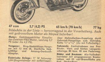 KTM Roller de Luxe Spezial