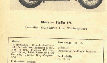 Mars Stella 175 & 175 DS