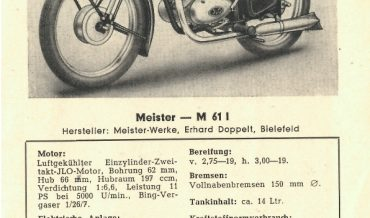 Meister M 61 I