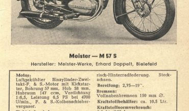 Meister M 57 S