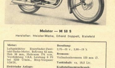 Meister M 58 S