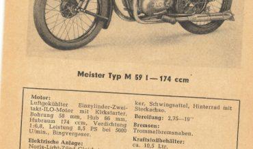 Meister M 59 I