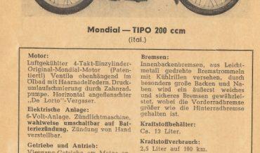 Mondial TIPO 200