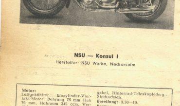 NSU Konsul I