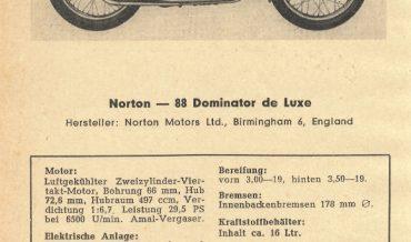 Norton 88 Dominator de Luxe