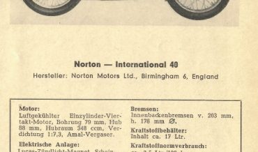 Norton International 40