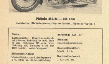 RMW Phönix 250/26