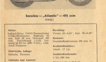 Sarolea Atlantic