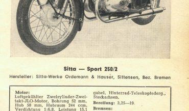 Sitta Sport 250/2