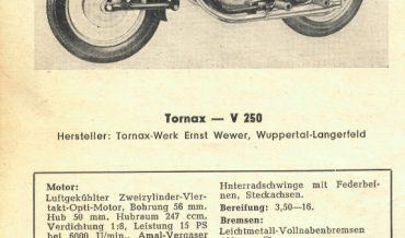 Tornax V 250