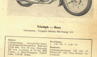Triumph Boss