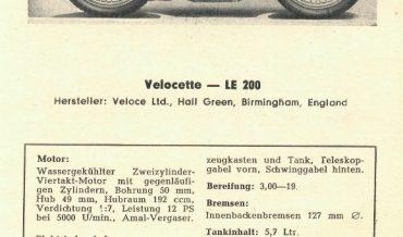 Velocette LE 200