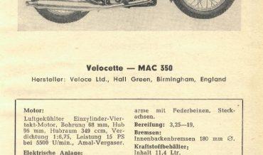 Velocette MAG 350