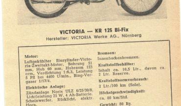 Victoria KR 125 Bi Fix