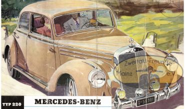 Mercedes Benz Typ 220 (1951 – 1955)