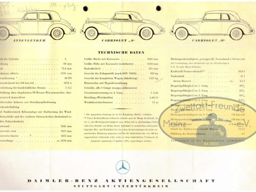 Mercedes Benz Typ 220-6
