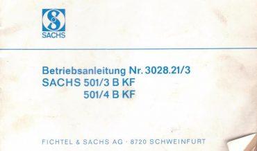 Sachs 501/3 BKF & 501/4 BKF